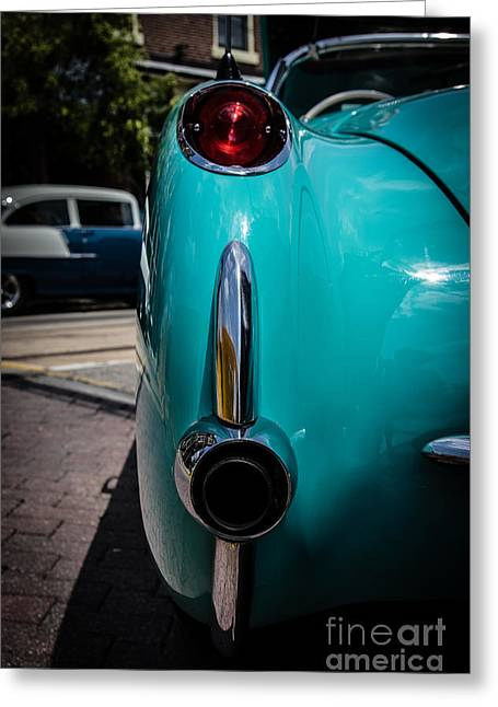 1956 Chevrolet Corvette Convertible Greeting Card by David March