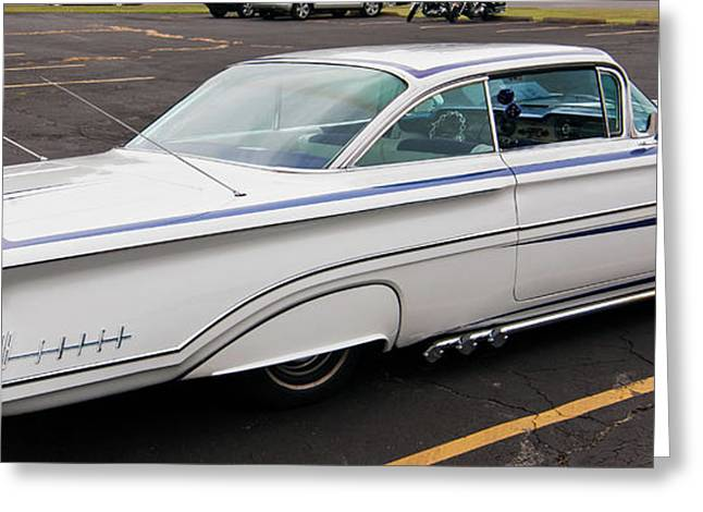 1960 Olds Eighty Eight 2023 Greeting Card by Guy Whiteley