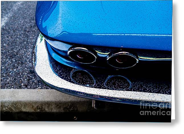 Greeting Card featuring the photograph 1965 Corvette Sting Ray by M G Whittingham