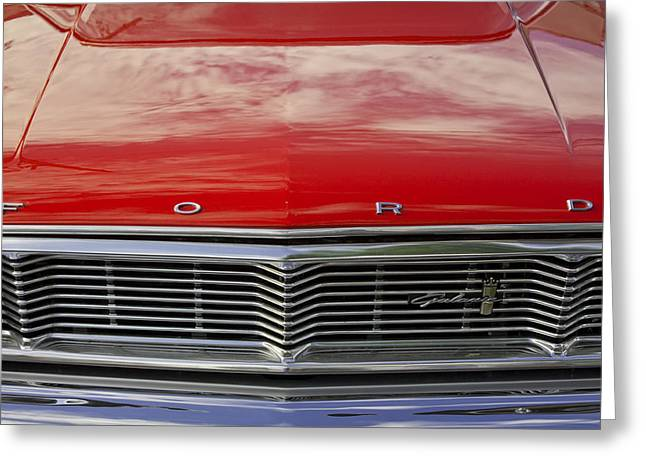 Robin Lewis Greeting Cards - 1960s Ford Galaxie Greeting Card by Robin Lewis