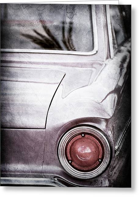 1963 Ford Falcon Taillight -0566ac Greeting Card by Jill Reger