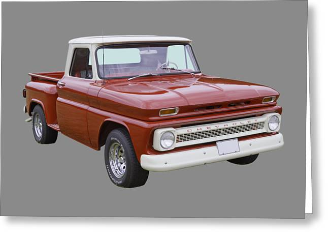 Chevrolet Pickup Truck Digital Greeting Cards - 1965 Chevrolet Pickup Truck Greeting Card by Keith Webber Jr