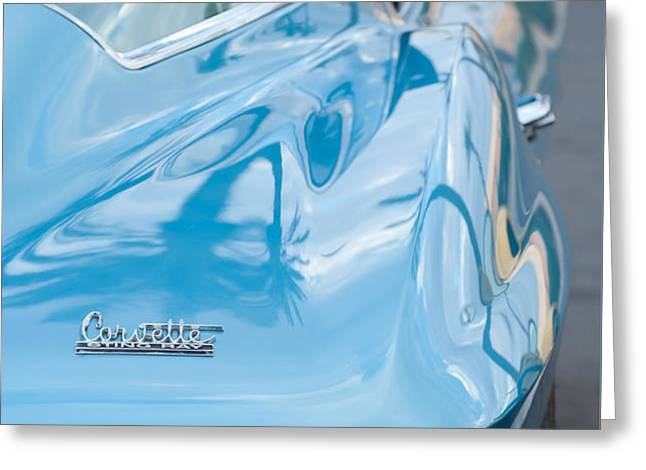 1967 Chevrolet Corvette 11 Greeting Card by Jill Reger