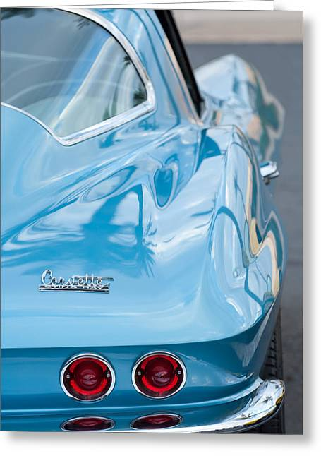 1967 Greeting Cards - 1967 Chevrolet Corvette 11 Greeting Card by Jill Reger