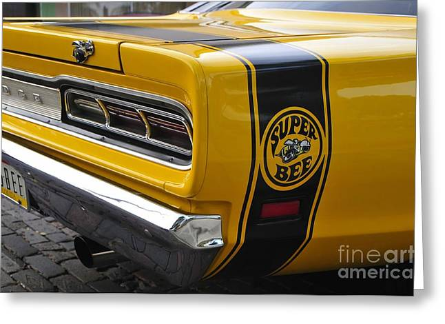 American Pride Greeting Cards - 1969 Super Bee Greeting Card by David Lee Thompson