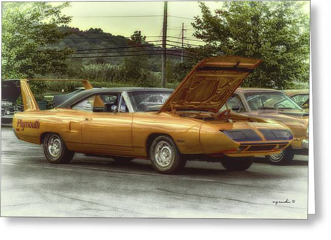 Quaker Greeting Cards - 1970 Superbird_HDR Greeting Card by Michael Rankin