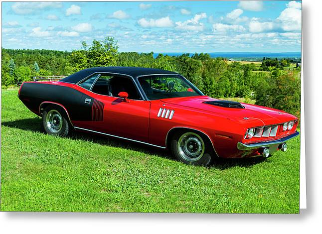 1971 Plymouth Greeting Card by Performance Image
