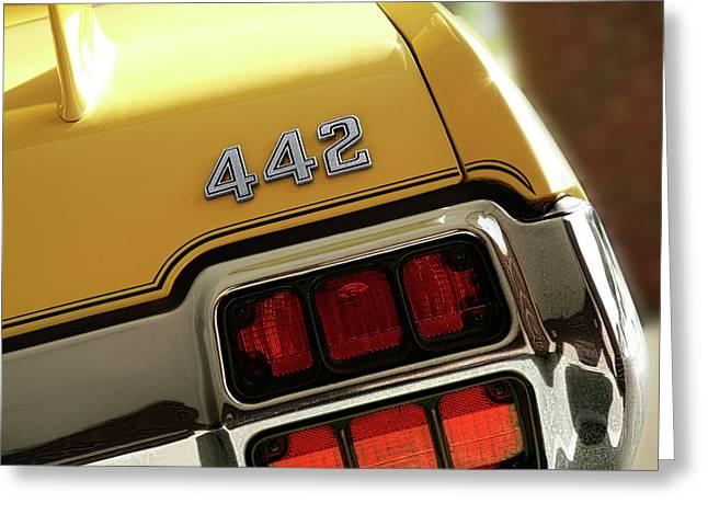 1972 Oldsmobile Cutlass 4-4-2 Greeting Card by Gordon Dean II