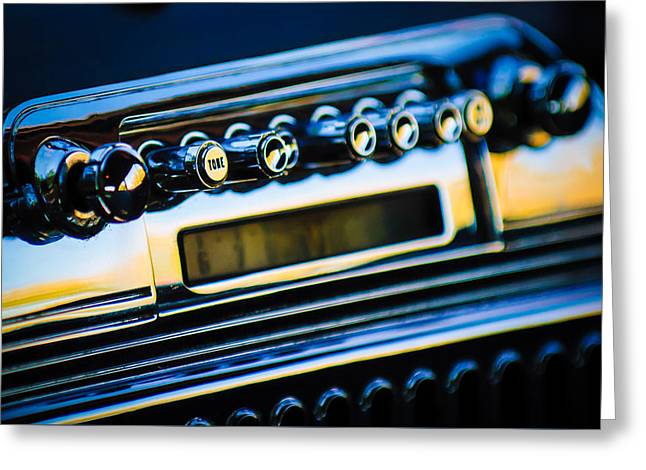 Car 47 Greeting Cards - 1947 Cadillac Model 62 Coupe Radio Greeting Card by Jill Reger