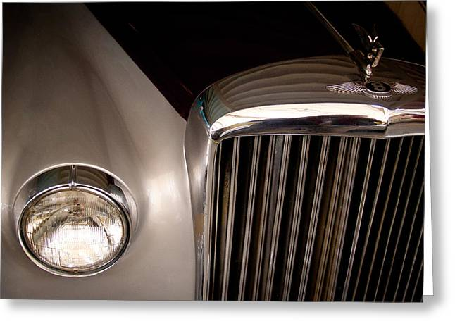 Vintage Models Greeting Cards - 1956 Bentley S1 Greeting Card by David Patterson