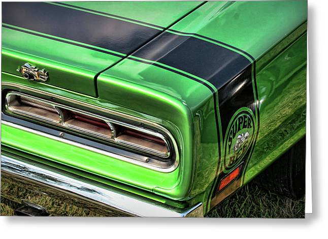 Hdr Photos Greeting Cards - 1969 Dodge Coronet Super Bee Greeting Card by Gordon Dean II