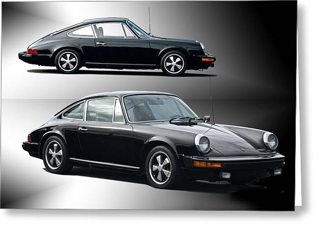 Rally Greeting Cards - 1979 Porsche 911 S Greeting Card by Dave Koontz