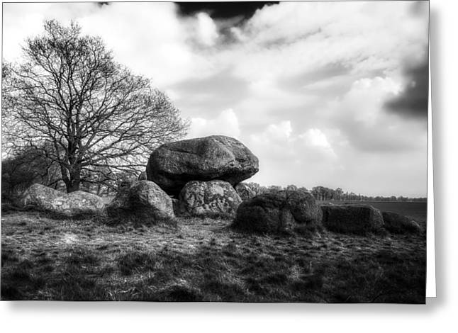 Dolmen Greeting Cards - A Megalithic Dolmen Tomb Greeting Card by Skitter Photo