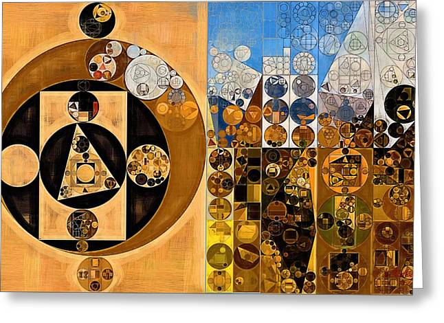 Abstract Painting - Calico Greeting Card by Vitaliy Gladkiy