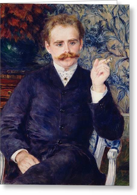 Albert Cahen Danvers Greeting Card by Auguste Renoir