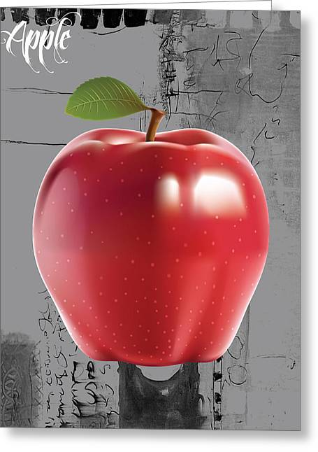 Apple Collection Greeting Card by Marvin Blaine