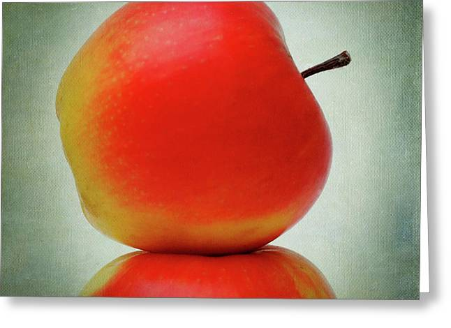 Cut-outs Greeting Cards - Apples Greeting Card by Bernard Jaubert