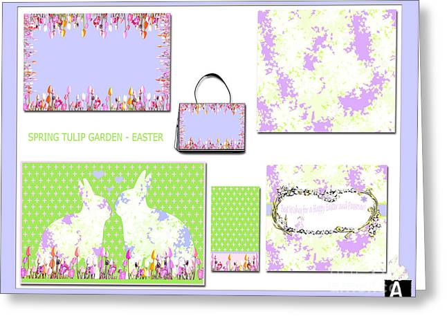 Surface Design Greeting Cards - Artyzen Studios Art Licensing Samples Greeting Card by ArtyZen Studios
