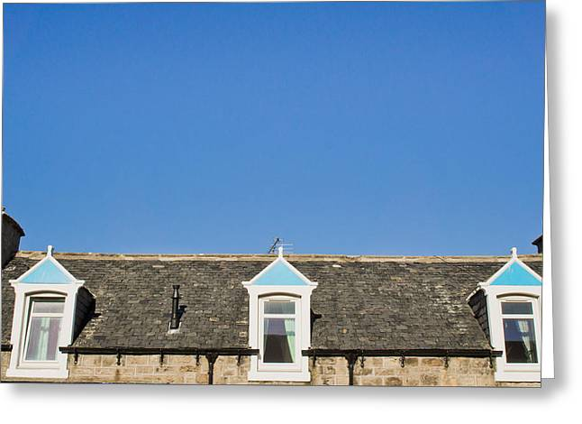 Attic Rooms Greeting Card by Tom Gowanlock