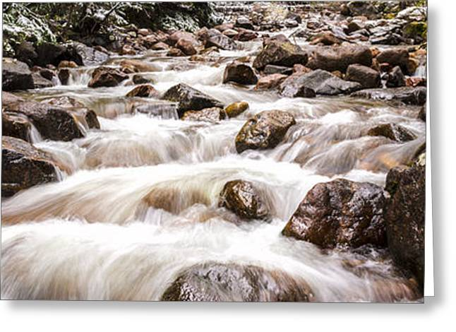 Beautiful Creek Greeting Cards - Autumn At Gore Creek - Vail Colorado Greeting Card by Brian Harig