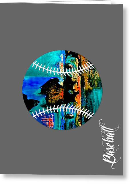 Ballgame Greeting Cards - Baseball Collection Greeting Card by Marvin Blaine