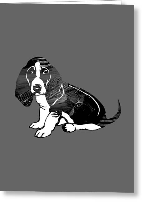 Dog Greeting Cards - Beagle Collection Greeting Card by Marvin Blaine