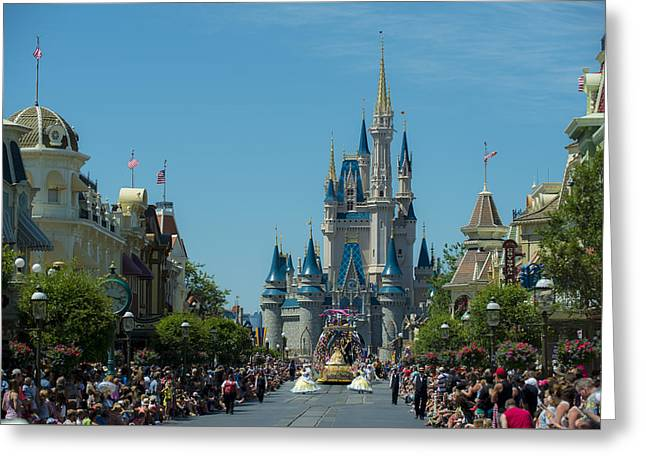Main Street Greeting Cards - Beauty and the Beast Greeting Card by Kevin Cable