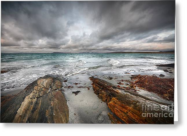 Berneray Views Greeting Card by Stephen Smith