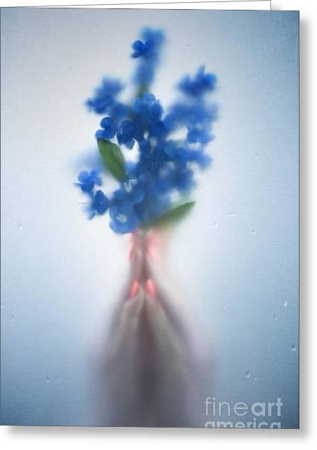 Blue Dream Greeting Card by Svetlana Sewell