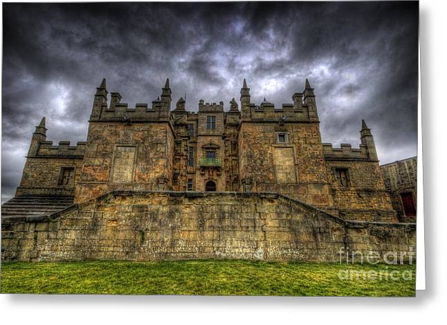 Mystical Landscape Greeting Cards - Bolsover Castle Greeting Card by Yhun Suarez