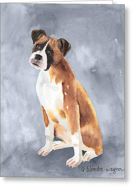 Buddy Greeting Card by Arline Wagner