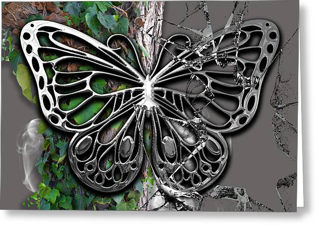 Butterfly Collection Greeting Card by Marvin Blaine