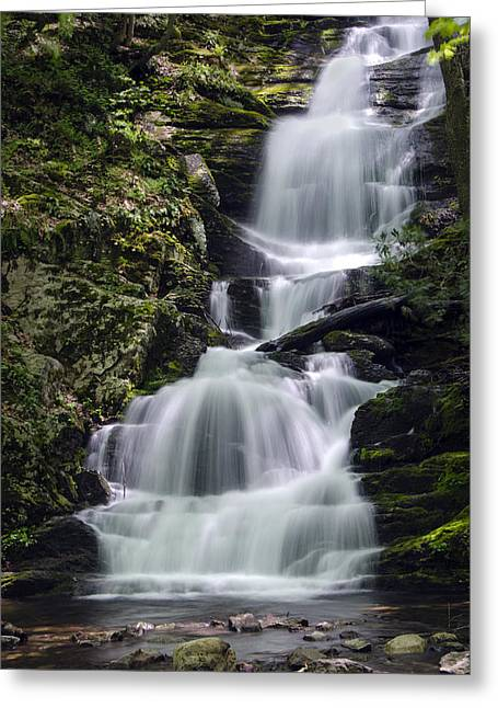 Buttermilk Falls Greeting Cards - Buttermilk Falls Greeting Card by Eleanor  Bortnick