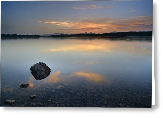 Nature Greeting Cards - Calm at the lake Greeting Card by Guido Montanes Castillo