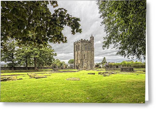 Jeremy Greeting Cards - Cambuskenneth Abbey Greeting Card by Jeremy Lavender Photography