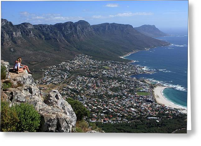 Camps Bay, Cape Town, South Africa Greeting Card by Aidan Moran
