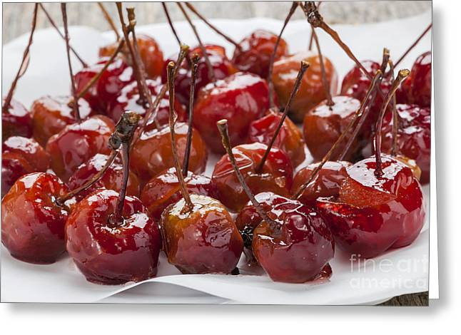 Candied Crab Apples Greeting Card by Elena Elisseeva