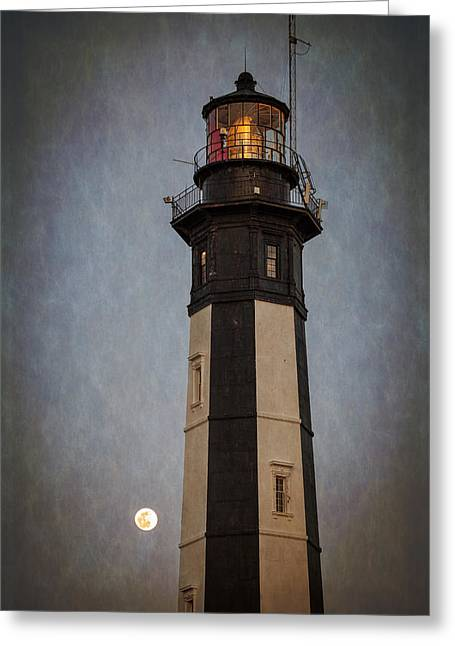 Virginia Postcards Greeting Cards - Cape Henry Lighthouse Greeting Card by Joshua McDonough