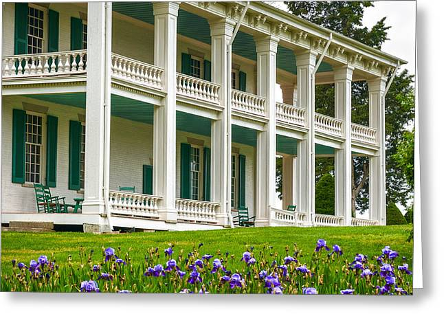 Carnton Plantation Greeting Card by Richard Marquardt