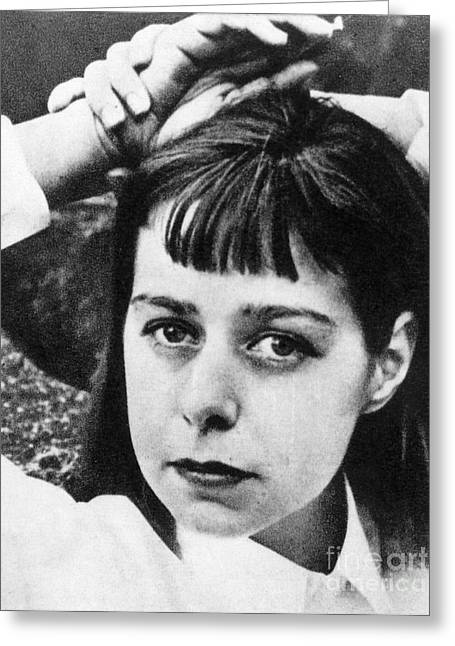 Carson Mccullers Greeting Card by Granger