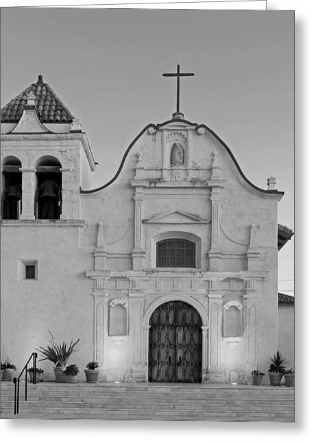 Borromeo Greeting Cards - Cathedral Of San Carlos Borromeo Greeting Card by Mountain Dreams