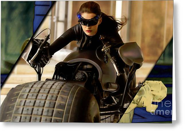 Catwoman Collection Greeting Card by Marvin Blaine
