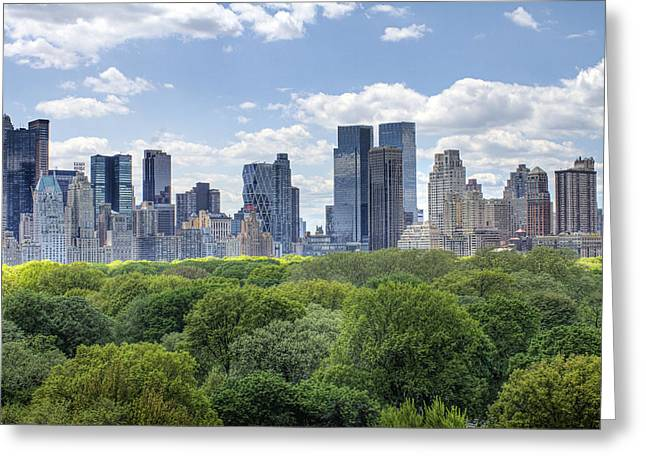 Best Sellers -  - Warner Park Greeting Cards - Central Park South Greeting Card by Ariane Moshayedi