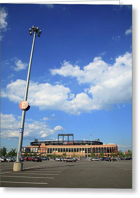 Ebbets Greeting Cards - Citi Field - New York Mets Greeting Card by Frank Romeo