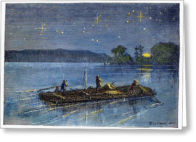 CLEMENS: TOM SAWYER Greeting Card by Granger