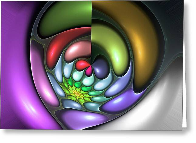 Colorful Greeting Card by Stefan Kuhn