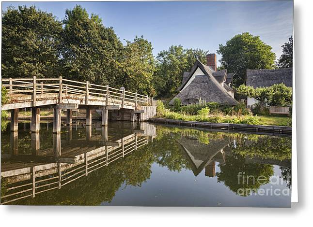 Vale Greeting Cards - Constable Country Greeting Card by Colin and Linda McKie