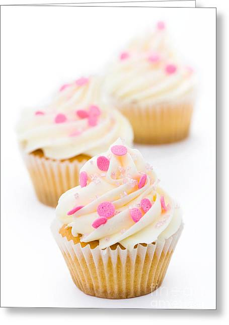 Cup Cakes Greeting Cards - Cupcakes Greeting Card by Ruth Black