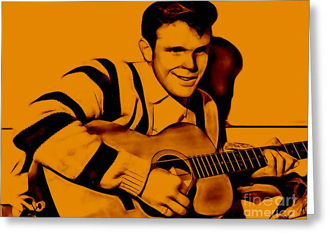 Del Shannon Collection Greeting Card by Marvin Blaine