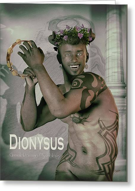 Winemaking Greeting Cards - Dionysus By Quim Abella Greeting Card by Joaquin Abella